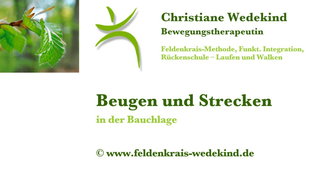 Christiane Wedekind · Feldenkrais-Methode